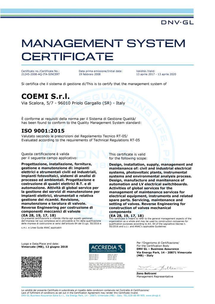 thumbnail of Cert_ISO 9001 Coemi Srl